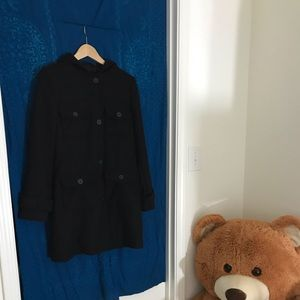 Old Navy Four Pocket Button-Up Peacoat